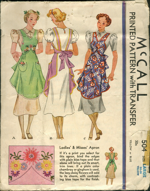 McCall 504 | Vintage Sewing Patterns | FANDOM powered by Wikia