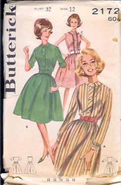 2172B 1960s Dress