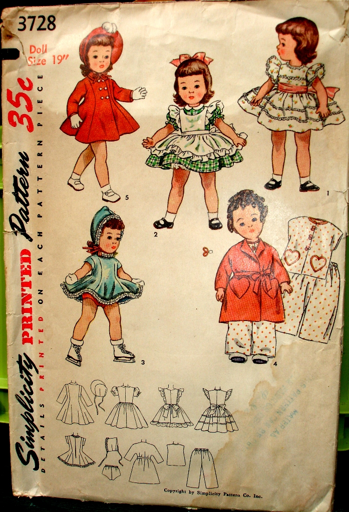 Simplicity 3728 | Vintage Sewing Patterns | FANDOM powered by Wikia