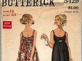 Butterick 5429 A