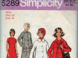 Simplicity 5289