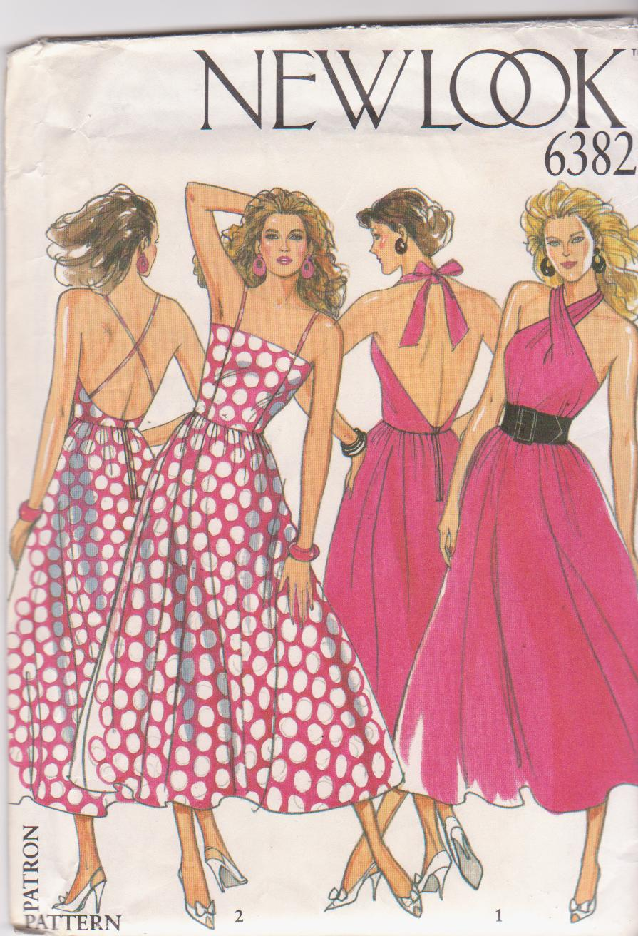 New Look 6382 Vintage Sewing Patterns Fandom Powered