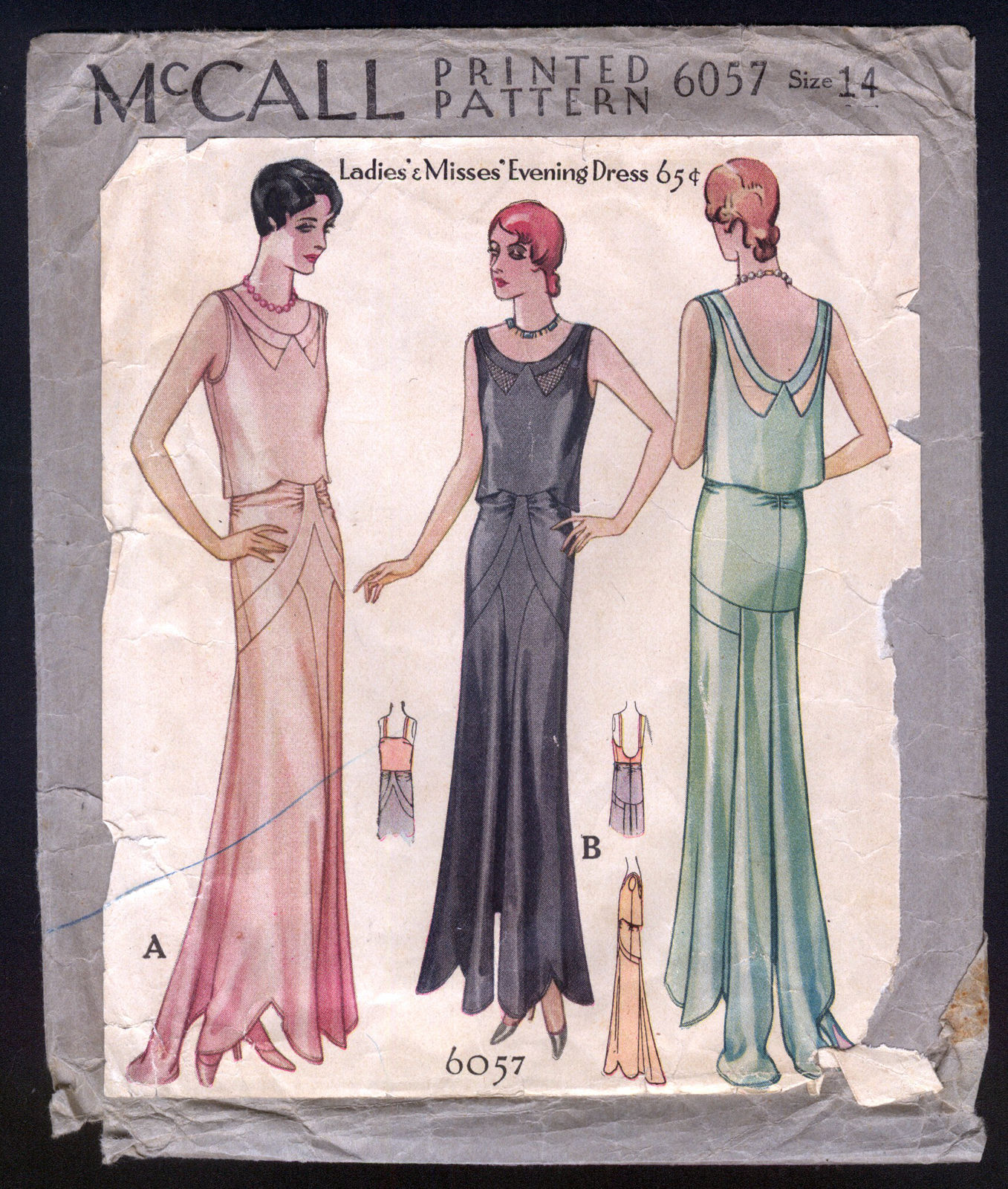 McCall 6057 A | Vintage Sewing Patterns | FANDOM powered by Wikia