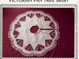 The Quilted Cottage Victorian Fan Tree Skirt