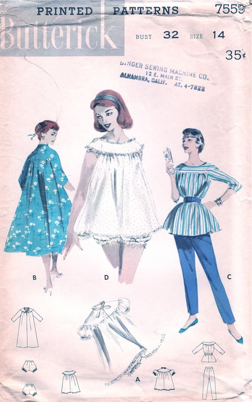 f89208d93e72e6 Butterick 7559 | Vintage Sewing Patterns | FANDOM powered by Wikia