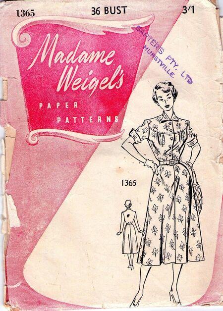 Madame weigel's 1365