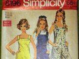 Simplicity 8196