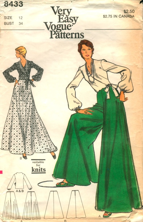 Vogue 8433 | Vintage Sewing Patterns | FANDOM powered by Wikia