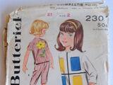 Butterick 2301 A