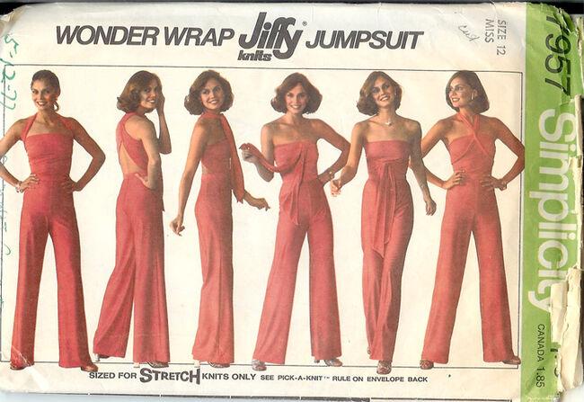 7957S 1977 Jumpsuit
