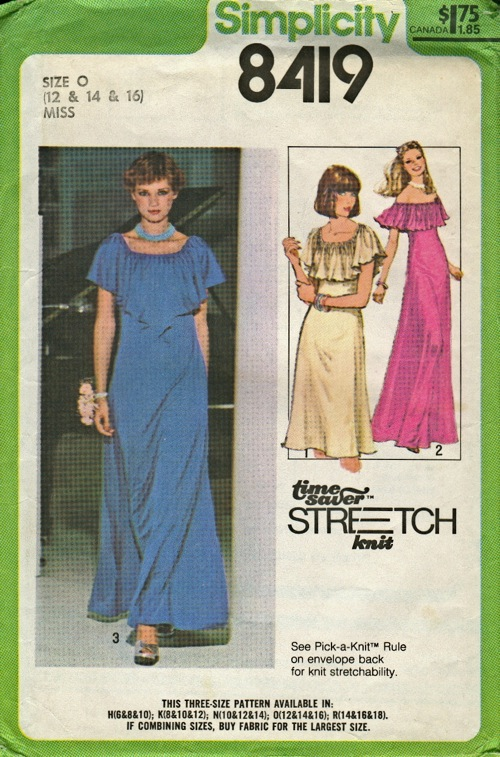 Simplicity 8419 Vintage Sewing Patterns Fandom Powered By Wikia