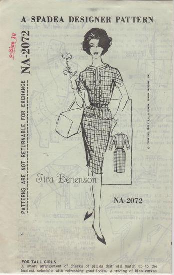 Spadea NA-2072 Fira Beneson Dress
