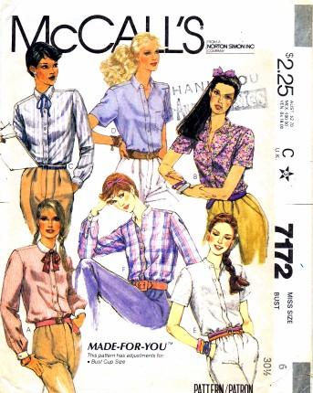 McCalls 1980 7172