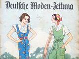 Deutsche Moden-Zeitung No. 16 Vol. 41 1931/32