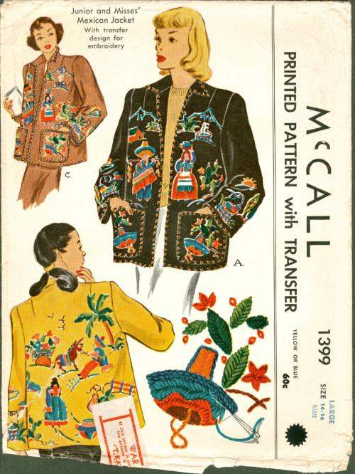 Mccall 1399 Vintage Sewing Patterns Fandom Powered By Wikia