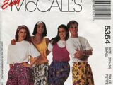 McCall's 5354 B