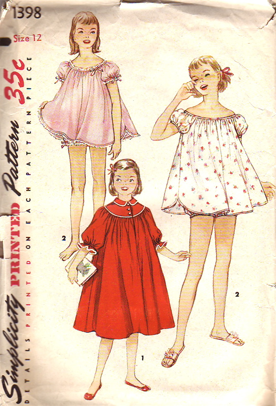 Simplicity 1398 Vintage Sewing Patterns Fandom Powered