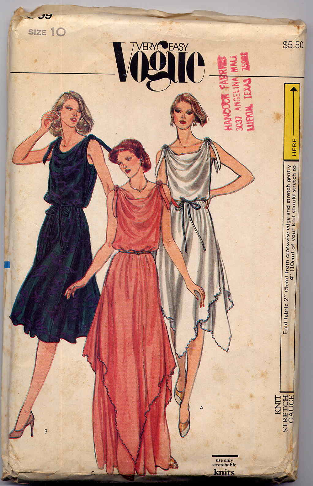 Vogue 7799 A | Vintage Sewing Patterns | FANDOM powered by Wikia