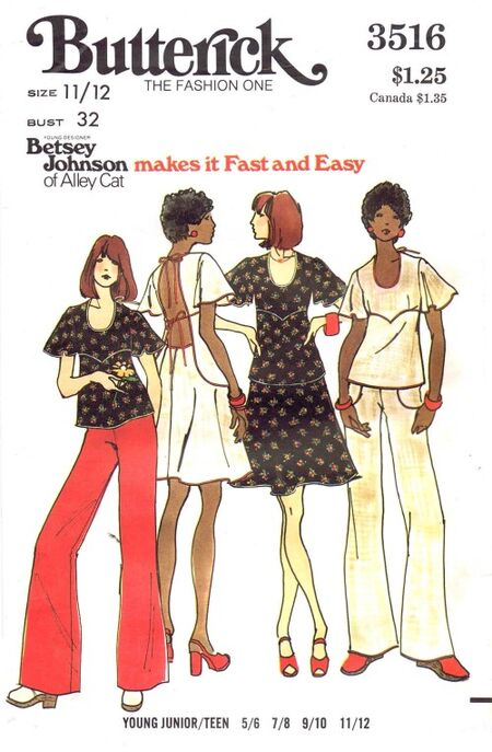 Butterick 1974 3516