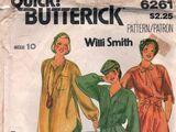 Butterick 6261 A