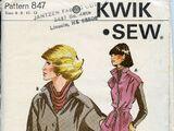 Kwik Sew 847