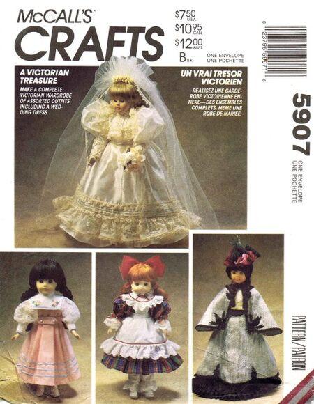McCalls 1992 5907