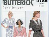 Butterick 4785 C