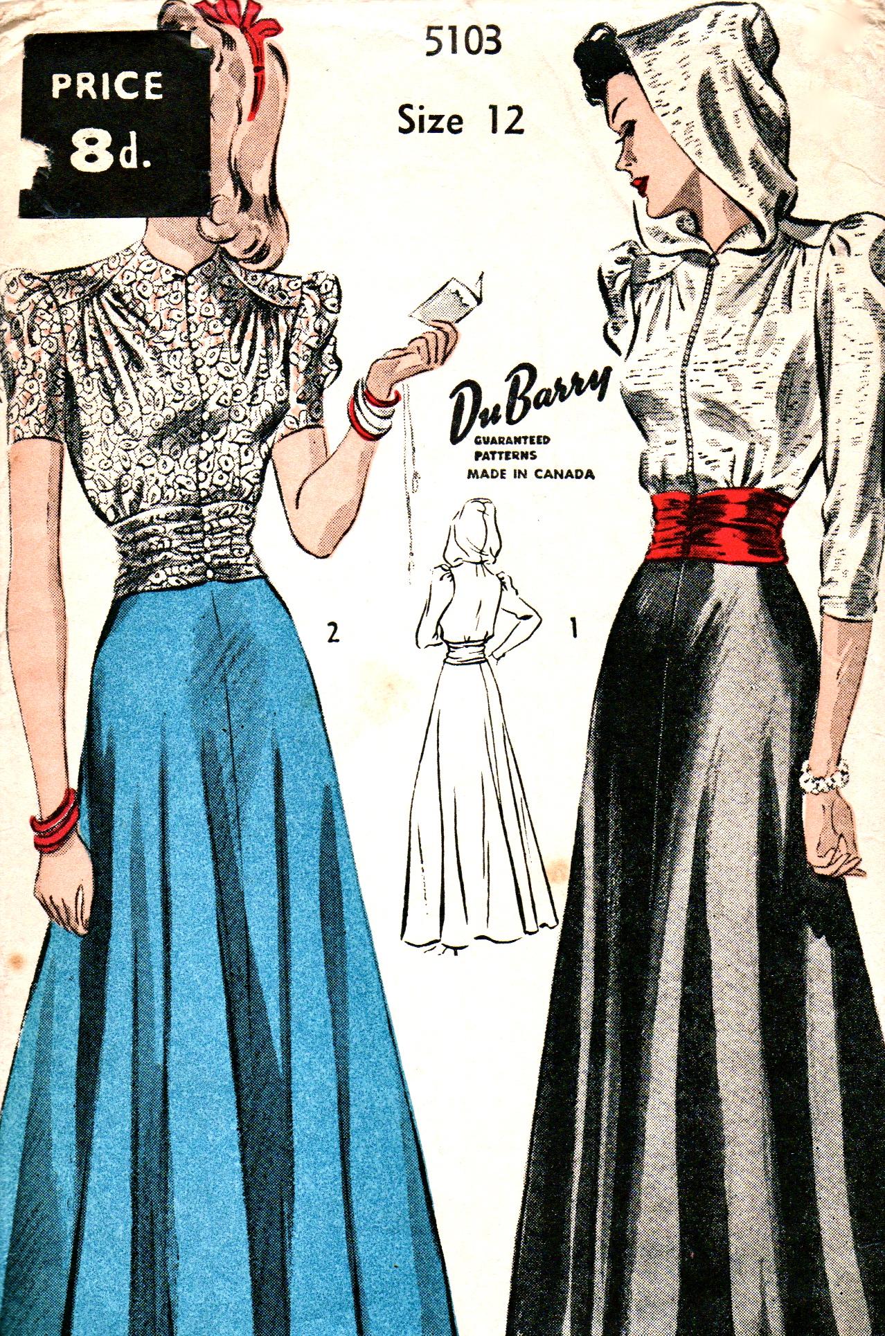 Victorian Blouse Patterns Sewing | Lauren Goss