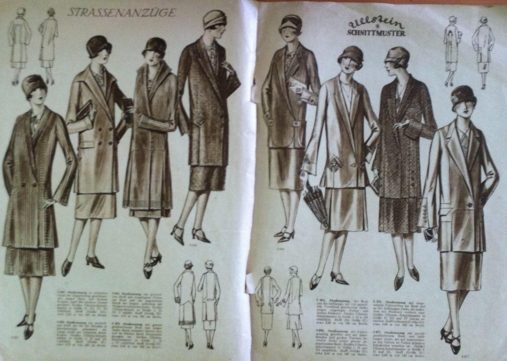 Ullstein Schnittmuster Spring/Summer 1926 | Vintage Sewing Patterns ...