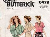 Butterick 6479 B