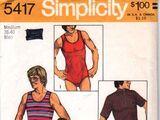 Simplicity 5417 A