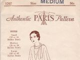 Paris Pattern 1707