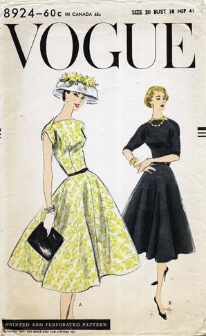 Vogue 8924 image