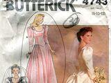 Butterick 4743 B