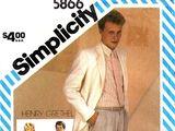 Simplicity 5866 B