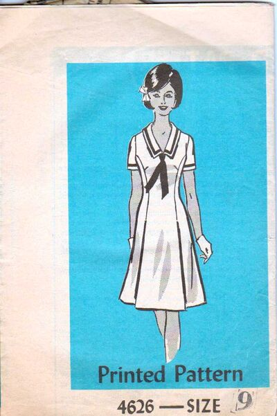 Ann Adams 4626-1 Size 9