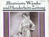 Illustrierte Wäsche- und Handarbeits-Zeitung No. 9 1936