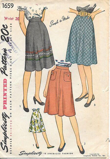 S1659Waist26,1946