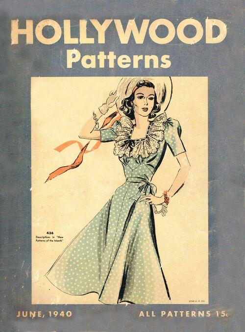Hollywood Patterns Counter Catalog 1940