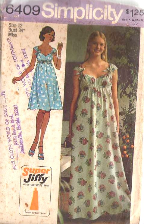 Simplicity 6409 Vintage Sewing Patterns Fandom Powered By Wikia