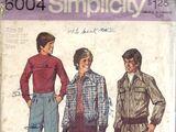 Simplicity 6004 A