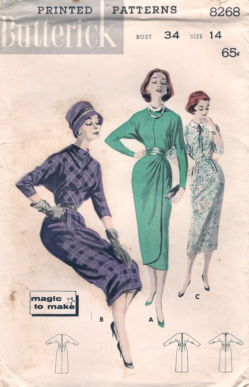 Butterick 8268 | Vintage Sewing Patterns | FANDOM powered by Wikia