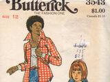 Butterick 3543 A