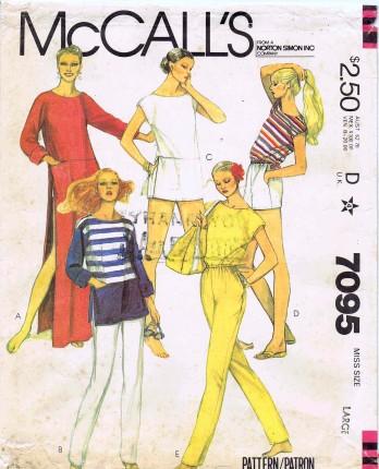 McCalls 1980 7095