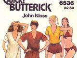 Butterick 6536 B