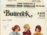 Butterick 4409 D