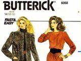 Butterick 6068 A