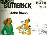 Butterick 6370 A