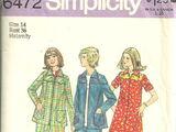 Simplicity 6472 A