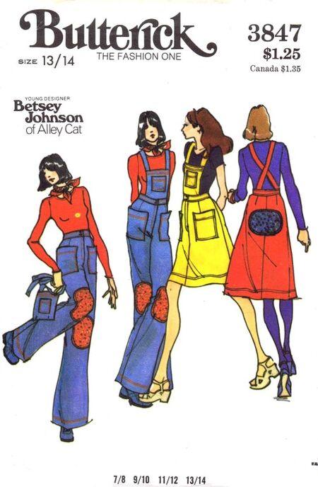 Butterick 1974 3847